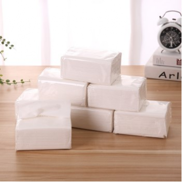 抽取式面巾纸批发 酒店宾馆KTV桌面用纸透明包装单包批发餐饮用纸 (38219630886)