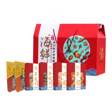 山珍海味礼盒6盒装1252克