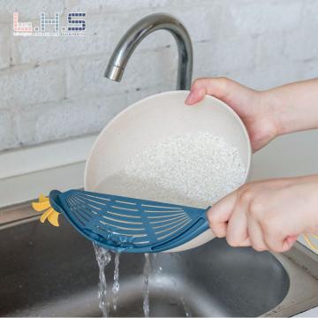 淘米神器家用厨房沥水洗米筛 不伤手淘米刷工具 淘米棒过滤淘米勺