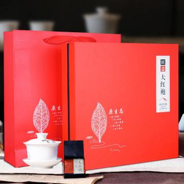 新品武夷山高山正山小种红茶礼盒装大气送礼小泡袋养胃好茶叶