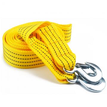 汽车拖车绳双层加厚 越野拖车捆绑带拉紧器拉车绳牵引绳 汽车用品