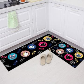 厨房地垫脚垫门垫进门口防油垫子浴室吸水垫女潮ins防滑垫