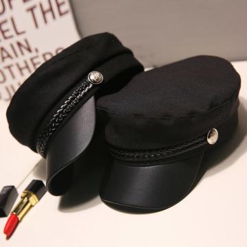 可爱八角帽子女新款百搭时尚韩版贝雷帽学生英伦风网红圆脸夏薄款