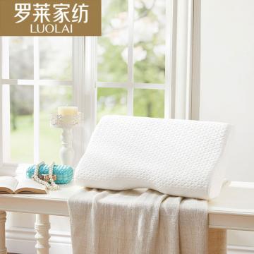 J-罗莱家纺 空气层磁石记忆枕 米色 30*50