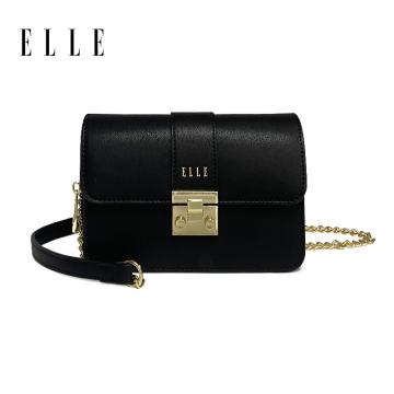 T-法国ELLE女包新款90050单肩包斜挎包链条包小方包