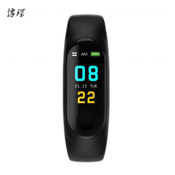 J- 豫琛智能手环M6Plus 手环 智能心率测试步数app操控