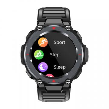 高防水智能多运动模式无线音乐监测心率血压多功能智能手表S25
